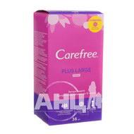 Щоденні прокладки Carefree Plus Large Fresh №36