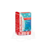 Норфлоксацин краплі очні/вушні 3 мг/мл флакон 5 мл