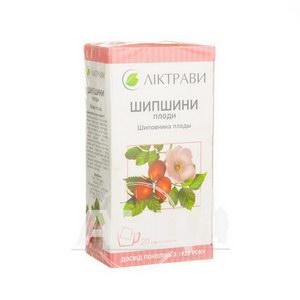 Шипшини плоди 3 г фільтр-пакет №20