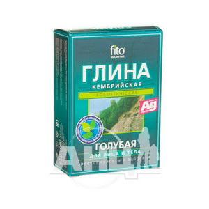 Глина косметична блакитна пакет кембрійська 100 г