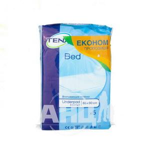 Пелюшки для немовлят Tena Bed Underpad Normal 60х90 см №5