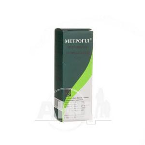 Метрогіл розчин для інфузій 500 мг флакон 100 мл №1