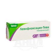 Левофлоксацин-Тева таблетки покрытые пленочной оболочкой 500 мг блистер №10