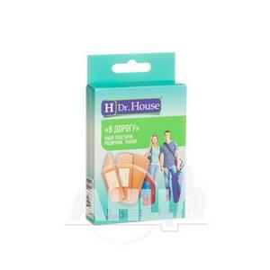 Набор пластырей медицинских Dr. House в дорогу тканых №15