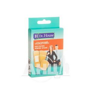 Набор пластырей медицинских Dr. House классический нетканых №15