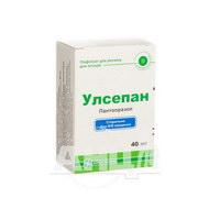 Улсепан лиофилизированный порошок для раствора для инъекций 40 мг флакон №1
