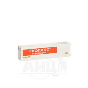 Екодакс крем 1 % туба 10 г