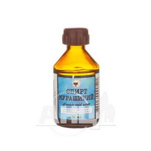 Спирт мурашиний розчин спиртовий для зовнішнього застосування 1 % флакон 50 мл