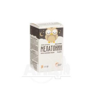 Мелатонін капсули №30