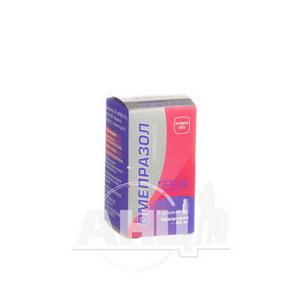 Омепразол лиофилизированный порошок для раствора для инфузий 40 мг флакон №1