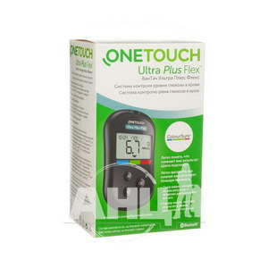Глюкометр OneTouch Ultra Plus Flex