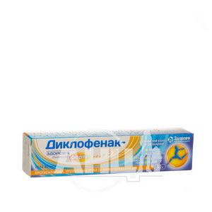 Диклофенак-Здоров'я Форте гель для зовнішнього застосування 3 % туба 50 г