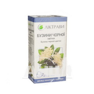 Бузини чорної квітки 1,5 г фільтр-пакет №20