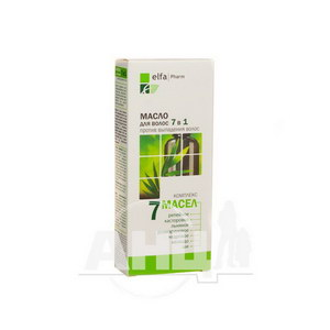 Олія для волосся Elfa Pharm 7 масел 7в1 100 мл