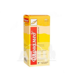 Флавамед розчин від кашлю розчин оральний 15 мг/5 мл флакон 100 мл