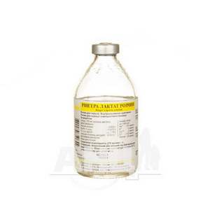Рингера лактат раствор для инфузий бутылка 200 мл