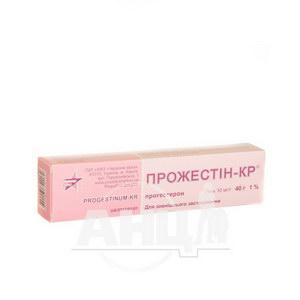 Прожестін-КР гель 10 мг/1 г туба 40 г
