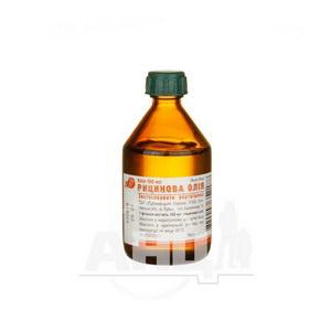 Рицинова олія 100 мл