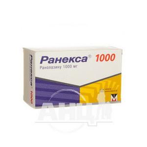 Ранекса 1000 таблетки пролонгированного действия 1000 мг блистер №60