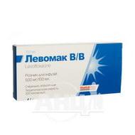 Левомак в/в раствор для инфузий 500 мг/100 мл бутылка 100 мл №1