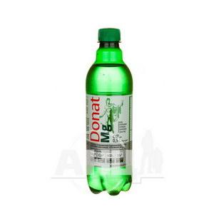 Вода мінеральна Donat Mg питна лікувальна 0,5 л
