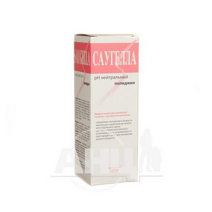Саугелла поліджин мило рідке для інтимної гігієни з екстрактом ромашки 250 мл