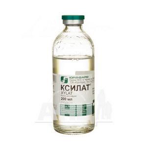 Ксилат розчин для інфузій пляшка 200 мл