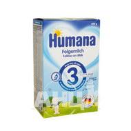 Молочна суміш Humana 3 для дітей з 10 міс 600 г