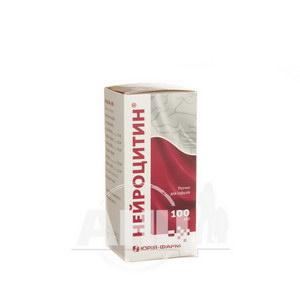 Нейроцитин розчин для інфузій пляшка 100 мл №1
