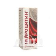 Нейроцитин раствор для инфузий бутылка 200 мл №1