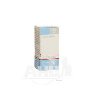 Латанокс краплі очні 0,05 мг/мл флакон-крапельниця 2,5 мл