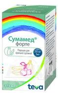 Сумамед форте порошок для оральної суспензії 200 мг/ 5 мл флакон 37,5 мл