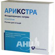 Арикстра розчин для ін'єкцій 2,5 мг/0,5 мл шприц №10