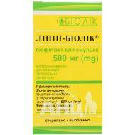Липин-Биолек порошок лиофилизированный для приготовления раствора 500 мг флакон №1