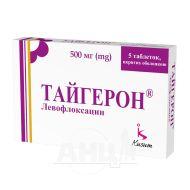 Тайгерон таблетки покрытые оболочкой 500 мг блистер №5