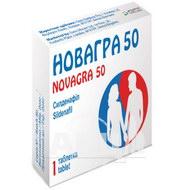 Новагра 50 таблетки покрытые пленочной оболочкой 50 мг №1