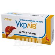Укрлив таблетки 250 мг блистер №30