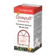 Домрид суспензия оральная 1 мг/1мл флакон 60 мл