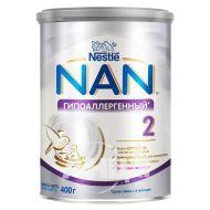 Суха молочна суміш Nestle NAN 2 гіпоалергенний 400 г