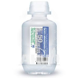 Кислота аминокапроновая-Дарница раствор для инфузий 50 мг/мл флакон 100 мл №1
