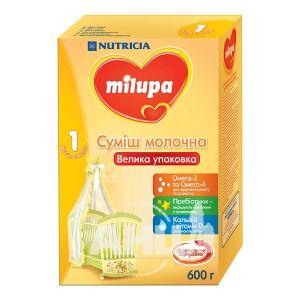 Суміш молочна Milupa 1 з 0 до 6 місяців 600 г