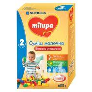 Суміш молочна Milupa 2 з 6 до 12 місяців 600 г