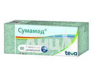 Сумамед таблетки дисперговані 1000 мг блістер №3