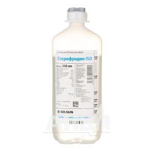 Стерофундин ISO раствор для инфузий контейнер 500 мл №10