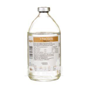 Трисоль раствор для инфузий бутылка 400 мл
