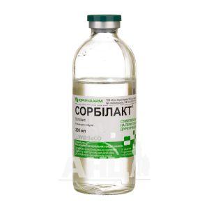 Сорбілакт розчин для інфузій пляшка скляна 200 мл