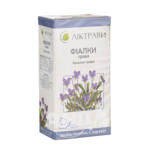 Фіалки трава 1,5 г фільтр-пакет №20
