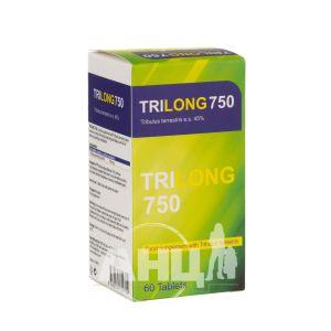 Трилонг 750 таблетки №60