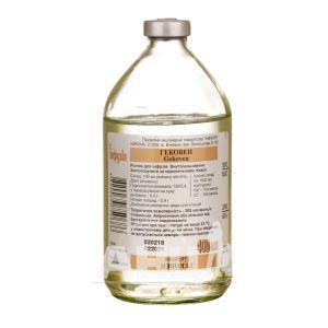 Гековен розчин для інфузій пляшка 400 мл