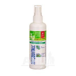 Спрей від комарів Mosquitall захист для дорослих від комарів 100 мл